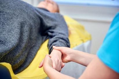 Fußreflexzonenmassage Schwangerschaft Wehen